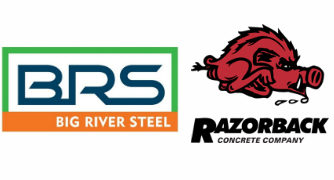 concrete supplier for big river steel mill