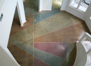 commercial concrete flooring ideas