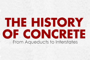history of concrete
