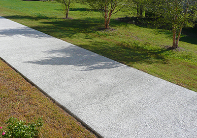 residential use of pervious concrete